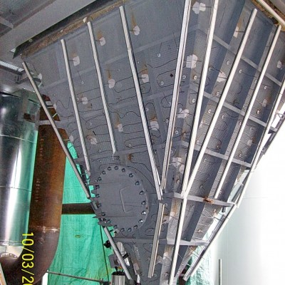 Filterheizung, mineralisolierte Begleitheizung
