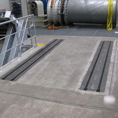 Fußbodenschienen