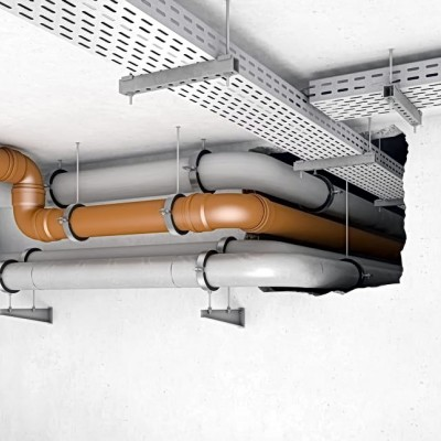 Brandschutzschott für Brandschutzabschnitte