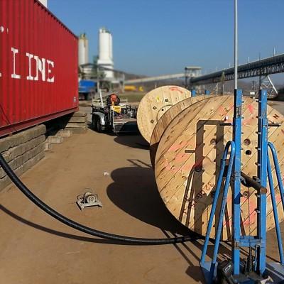 Industriemontagen Kabelzug